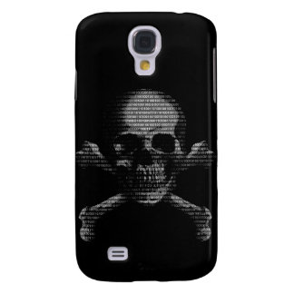 Hacker Skull and Crossbones Galaxy S4 Covers