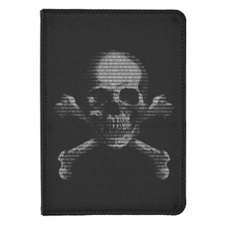 Hacker Skull and Crossbones Kindle 4 Cover