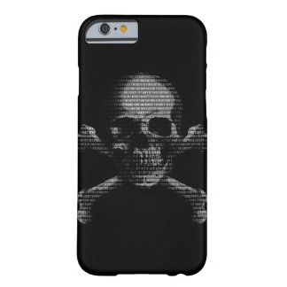 Hacker Skull and Crossbones Barely There iPhone 6 Case