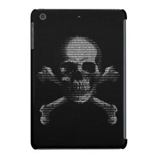 Hacker Skull and Crossbones iPad Mini Retina Cases