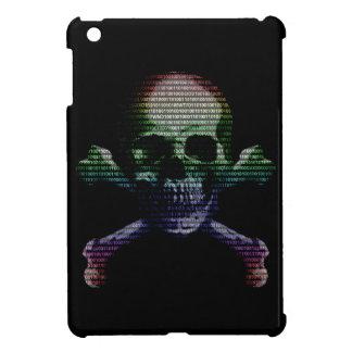 Hacker Skull and Crossbones iPad Mini Cover