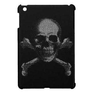 Hacker Skull and Crossbones iPad Mini Cases