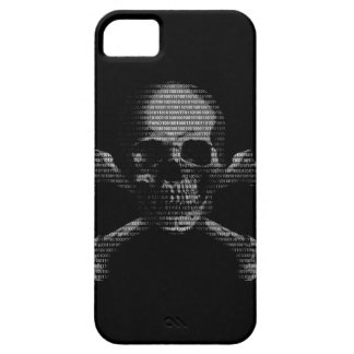 Hacker Skull and Crossbones iPhone SE/5/5s Case