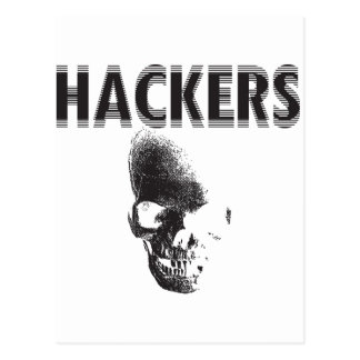 Hackers Postcard