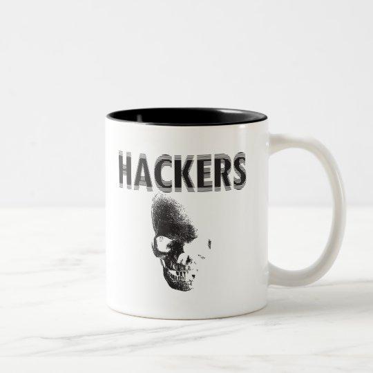 Hackers Two-Tone Coffee Mug