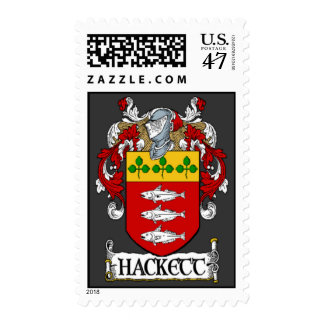 Hackett Coat of Arms Postage Stamps