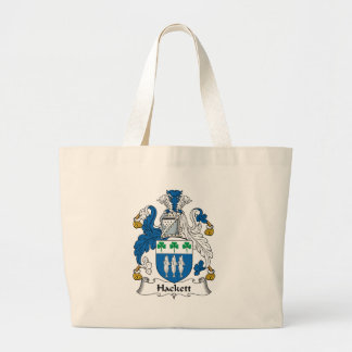 Hackett Family Crest Canvas Bags