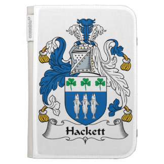Hackett Family Crest Kindle Folio Cases