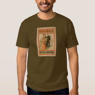 Hackett, 'The Tree of Knowledge' Vintage Theater T Shirt