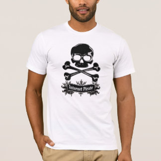Hackin' Tha Galleon! - Internet Pirate T-Shirt