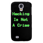 Hacking Is Not A Crime Samsung Galaxy S4 Cover