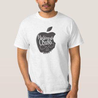 Hackintosh OSx86 Logo 3D Black T Shirt