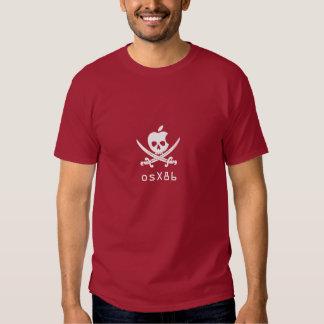 hackintosh, osX86 pirate T Shirt