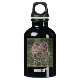 Hackles Up Cheetah Aluminum Water Bottle
