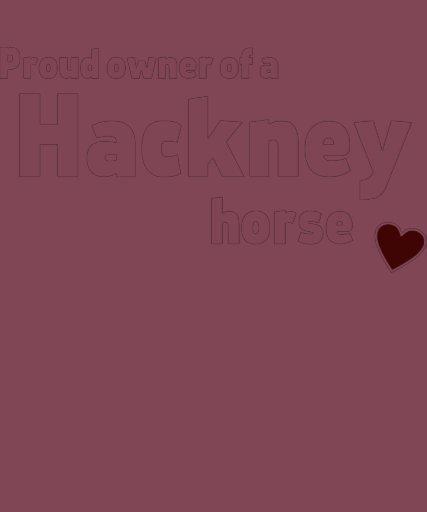 Hackney horse t-shirt