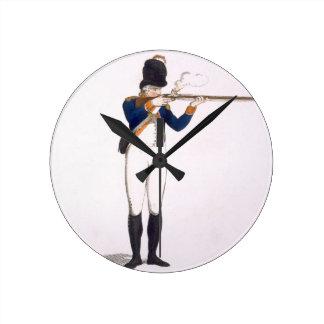 Hackney Volunteer, plate 49 from 'Loyal Volunteers Round Clock