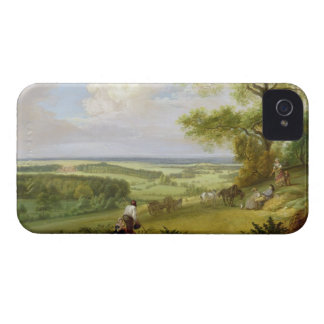 Hackwood Park Hampshire oil on canvas iPhone 4 Case-Mate Cases