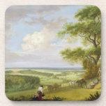 Hackwood Park, Hampshire (oil on canvas) Drink Coaster