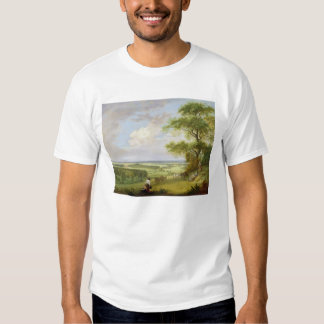 Hackwood Park, Hampshire (oil on canvas) Shirt