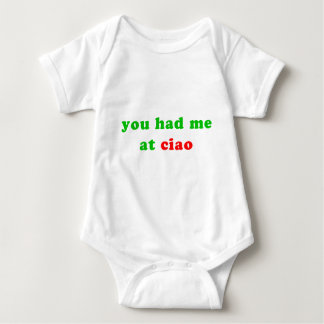 had me at ciao baby bodysuit