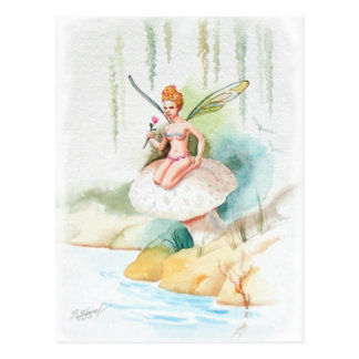 Hada #1 tarjeta postal