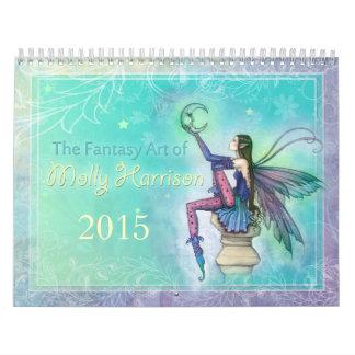 Hada 2015 de Molly Harrison y calendario del arte