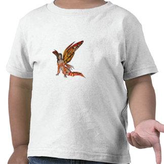 Hada anaranjada 3 de la mariposa del duendecillo camisetas