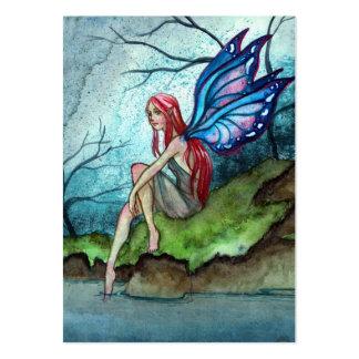 Hada azul tarjeta de visita
