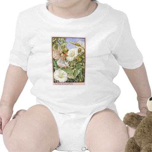 Hada blanca de la enredadera traje de bebé