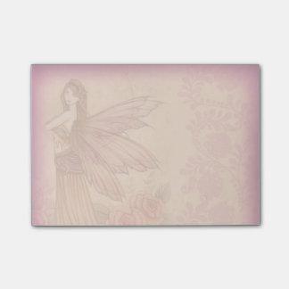 Hada color de rosa elegante