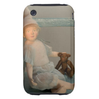 Hada con su oso de peluche preferido carcasa though para iPhone 3