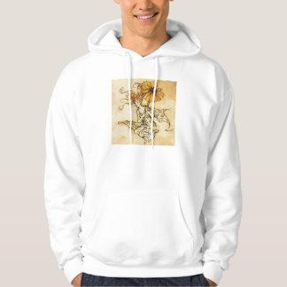 Hada con sudadera con capucha de la flor