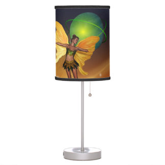 Hada cósmica lámpara de escritorio