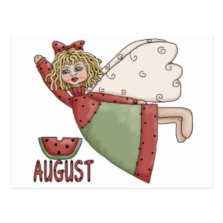 Hada de agosto postales
