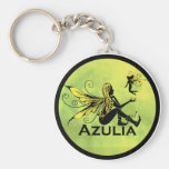 Hada de Azulia - amarillo Llavero