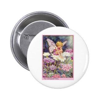Hada de Candytuft Pin Redondo 5 Cm
