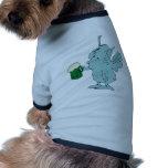 Hada de consumición de la cerveza camisetas mascota