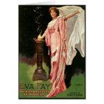 Hada de Eva del vintage, la alta sacerdotisa del Tarjeta De Felicitación