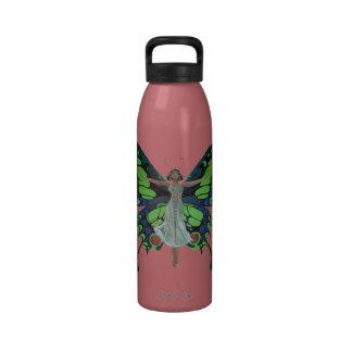 Hada de Flutterby Botella De Agua Reutilizable