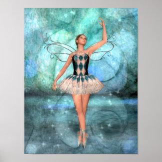 Hada de la bailarina de la tolerancia póster
