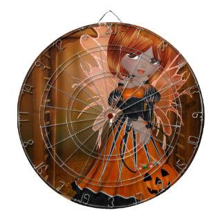 Hada de la calabaza de Halloween Tabla Dardos