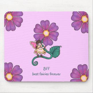 Hada de la flor alfombrilla de ratón