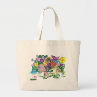 Hada de la flor del Victorian y fiesta del té del  Bolsas De Mano