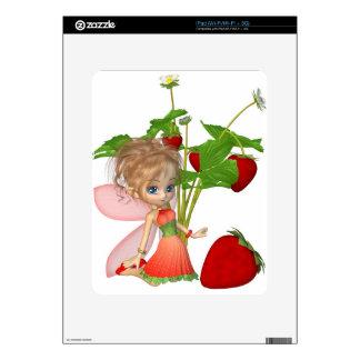 Hada de la fresa skins para iPad