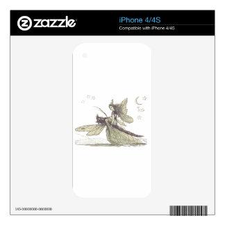 Hada de la libélula iPhone 4 skins