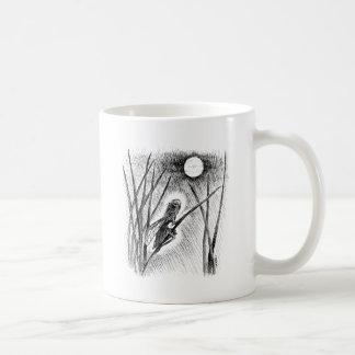 Hada de la luna taza básica blanca