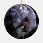 Hada de la luz de luna adornos de navidad