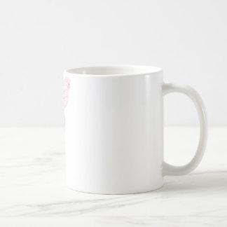 hada de la mariposa taza básica blanca