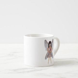 Hada de la tarjeta del día de San Valentín del ros Taza Espresso