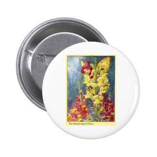 Hada de Snapdragon Pin Redondo 5 Cm
